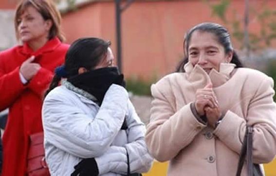 Ingresará esta noche frente frío N°1 en el Norte de Coahuila y Chihuahua