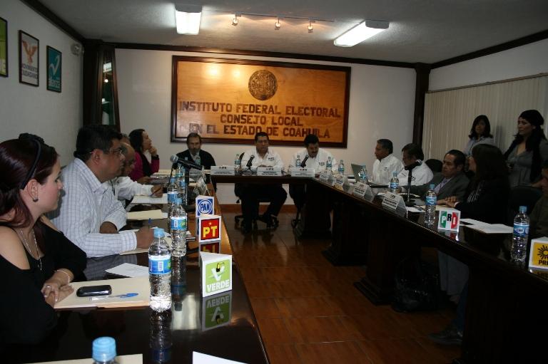 Define IFE medidas para próximas elecciones 2011-2012