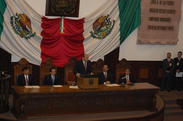 Toma protesta Rubén Moreira como Gobernador de Coahuila