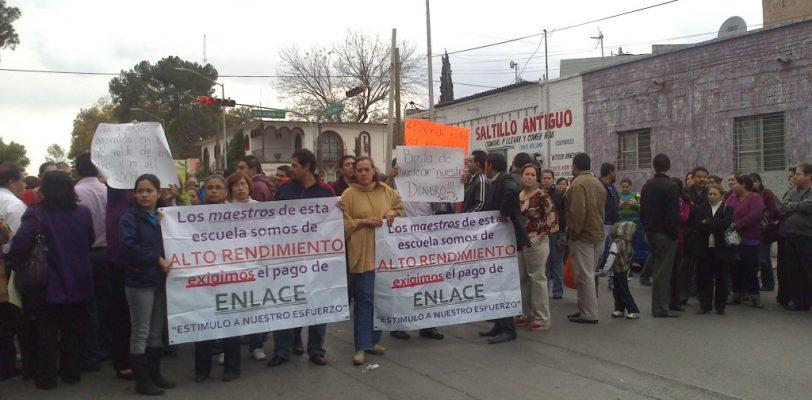 Anuncian maestros de la Sección 5 del SNTE paro de labores en Coahuila