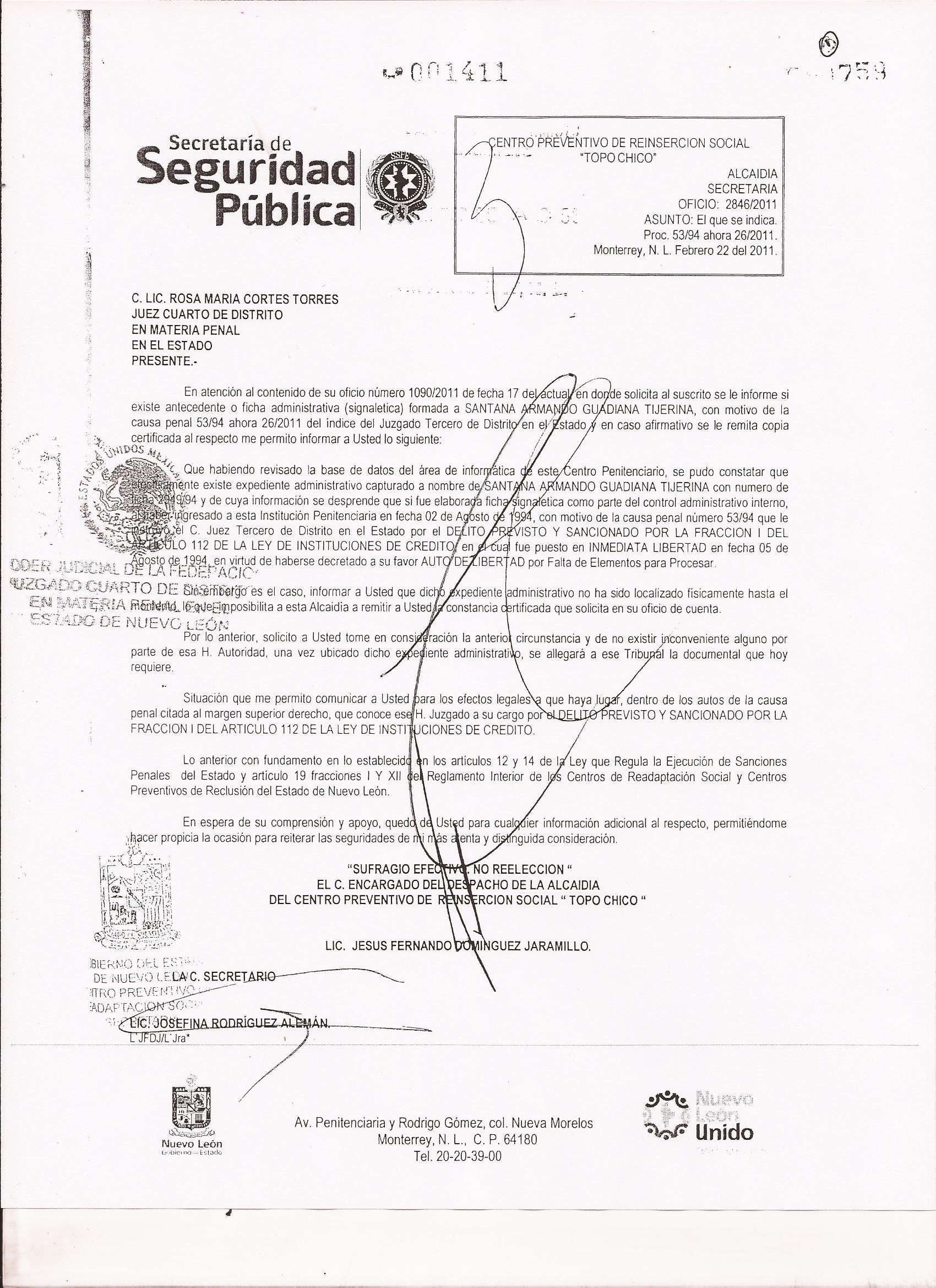 Guadiana denuncia a HMV por presunto espionaje telefónico