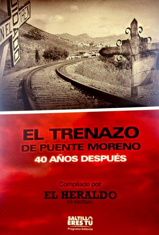 """Presentarán libro """"El Trenazo de Puente Moreno, 40 años después""""."""