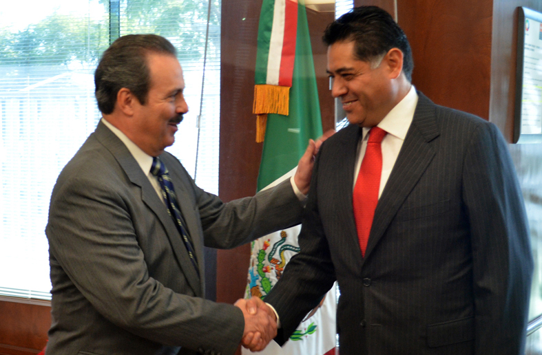 Se reúne titular de SAGARPA Enrique Martínez con Gobernador de Durango