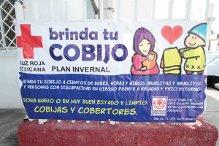 """Obtiene Cruz Roja poca respuesta a campaña """"Brinda tu cobijo"""""""
