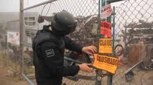 PERMANECEN CLAUSURADOS YONQUES EN SALTILLO