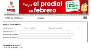 DA MUNICIPIO CON INTERNET FACILIDADES PARA PAGAR PREDIAL
