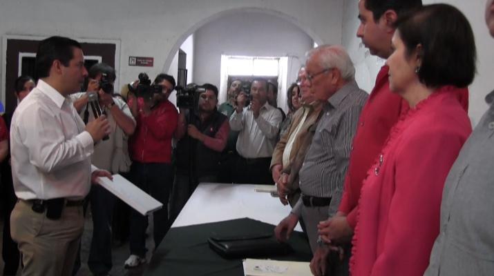 """""""No tengo contrincantes"""", dice Ricardo Aguirre"""