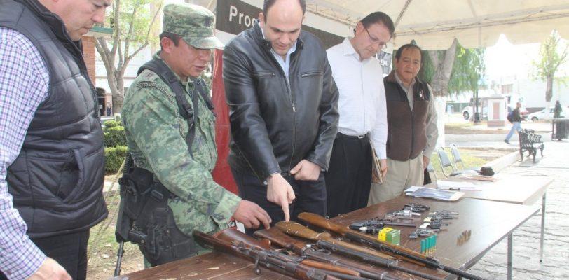 Arranca el lunes 4 marzo canje de armas en Saltillo