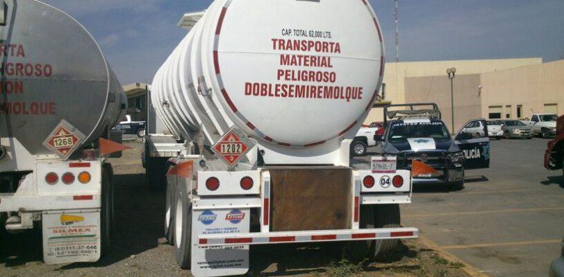 Un detenido por robar combustible a Pemex en Coahuila