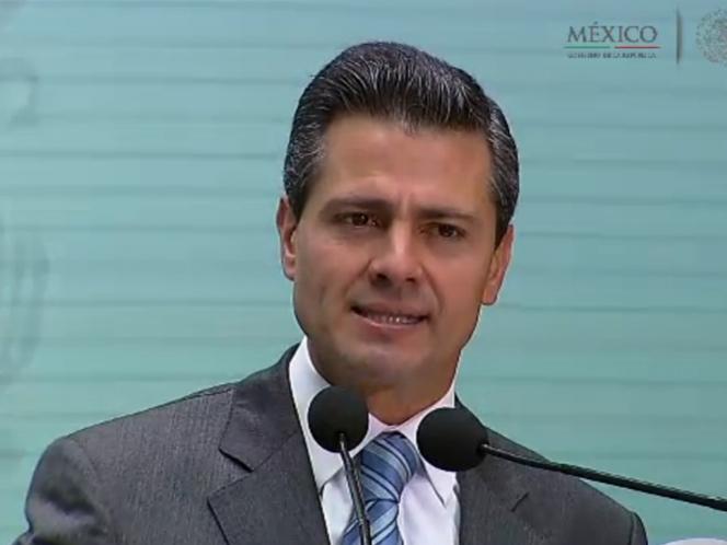 NACIONAL /Peña Nieto: Se prohíbe libre perforación de pozos sin permiso de Conagua
