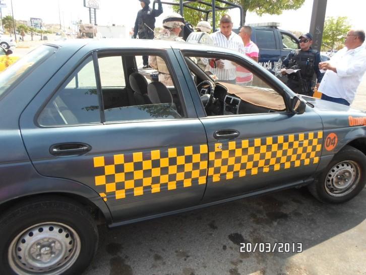 Decomisa PGJE 11 taxis piratas en Acuña