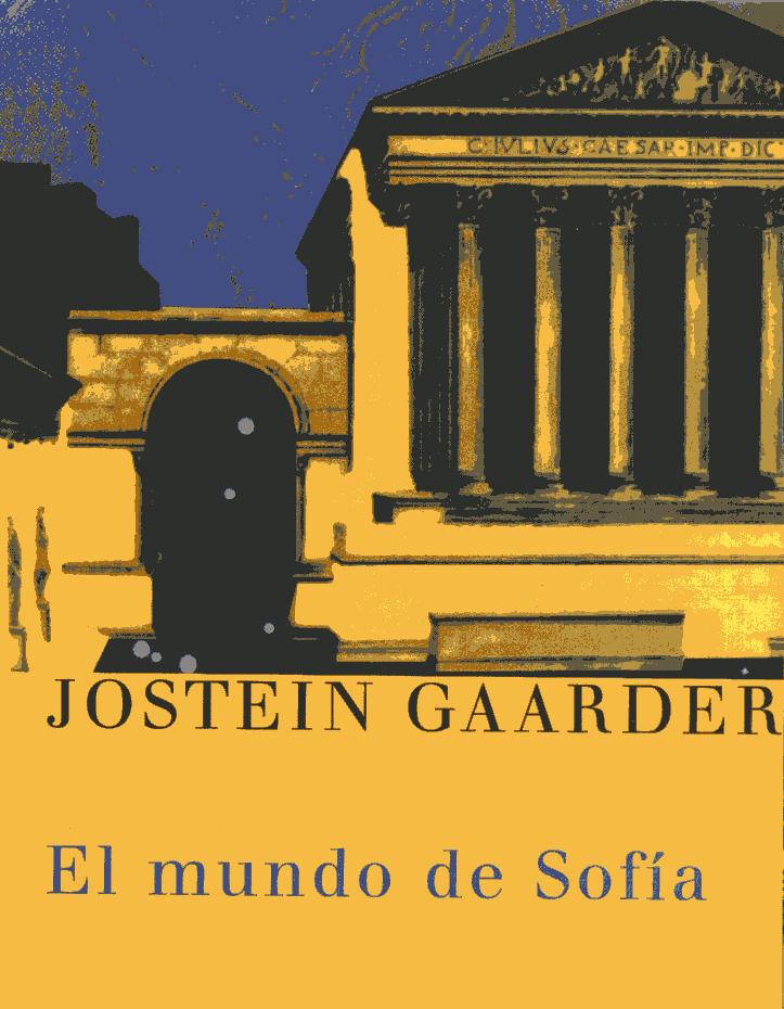 LIBROS/ El mundo de Sofía