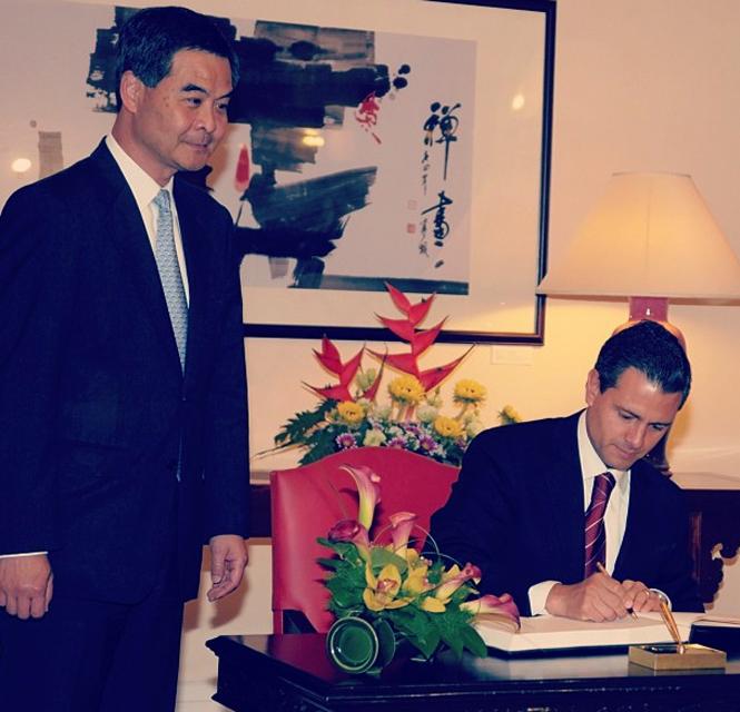 NACIONAL/ Peña Nieto inicia visita oficial a China; sostiene encuentro con empresarios