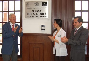 Declaran edificio del Congreso de Coahuila 100 por ciento libre de humo
