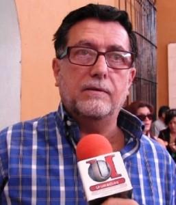 Rodolfo Garza Gutiérrez, integrante de la Asociación de Usuarios de Agua en Saltillo.
