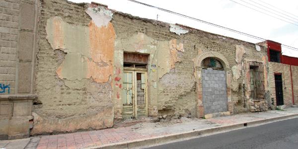 Se prepara Centro Histórico ante posibles derrumbes