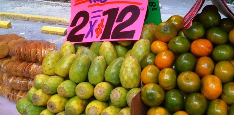 Aumenta hasta 60 por ciento el precio de granos y frutas