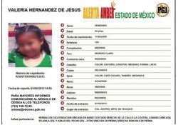 NACIONAL/ La Alerta Amber permite encontrar a una niña mexicana en El Salvador