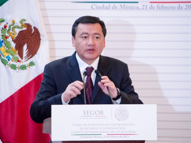 NACIONAL/ Bajan homicidios dolosos en México, detalla Segob