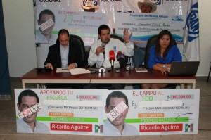 Denuncian presunto fraude cometido por Ricardo Aguirre a ejidatarios