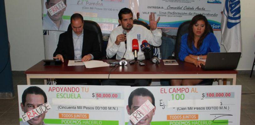 PAN denuncia a Ricardo Aguirre por fraude cometido como alcalde panista