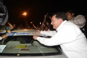 Arranca Isidro Lopez campaña
