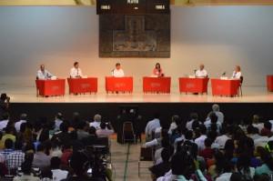 Participan candidatos a la alcaldía de Torreón en debate organizado por Universidad Iberoamericana