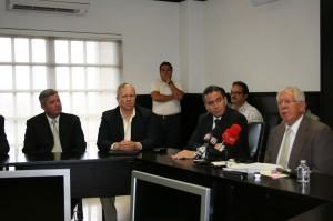 Comisión Especial se reúne con delegados federales para revisar blindaje electoral