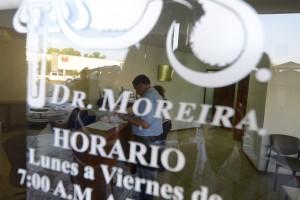 El candidato se sometió a la prueba médica en los laboratorios Moreira