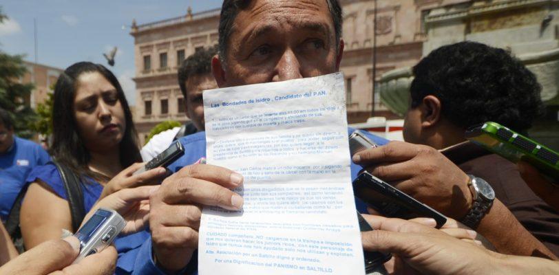 Denuncia Isidro campaña de ataque y ofensas contra su familia