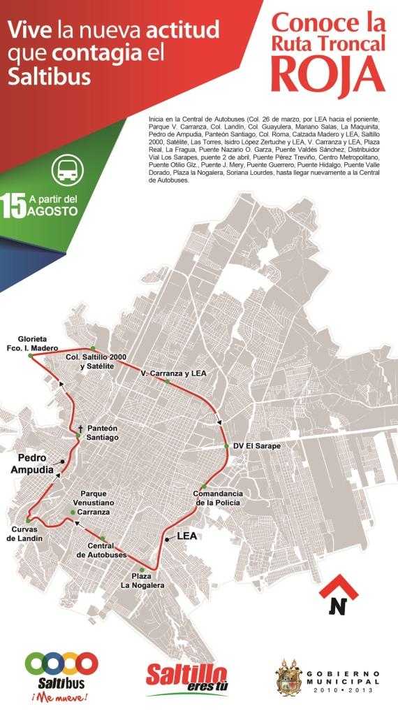 Explica Municipio formas de pagar transbordos en rutas troncales