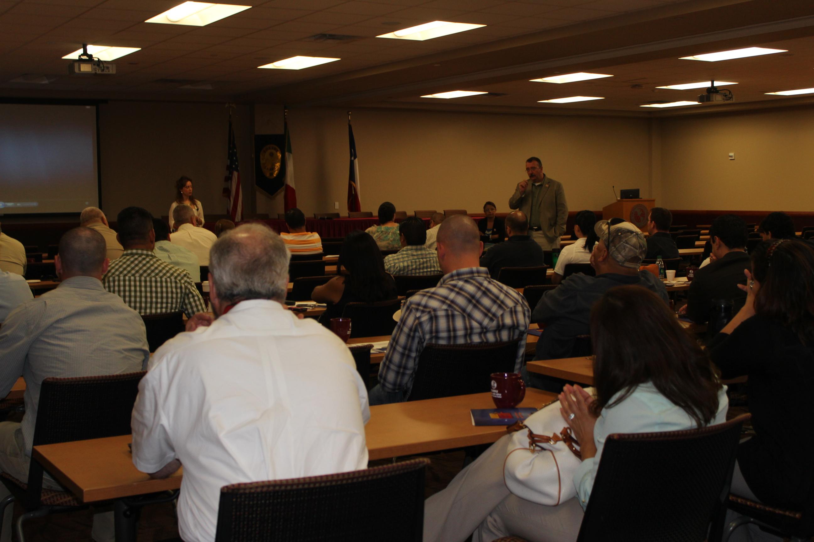 Autoridades de Texas y Coahuila intercambian experiencias de seguridad