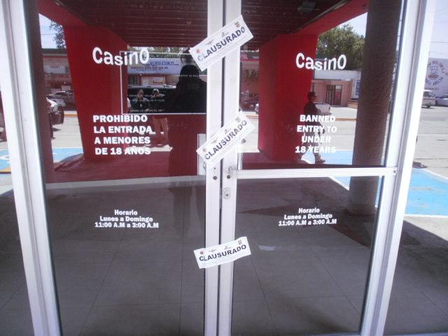 Coahuila queda libre de Casinos, clausuran los últimos en Acuña