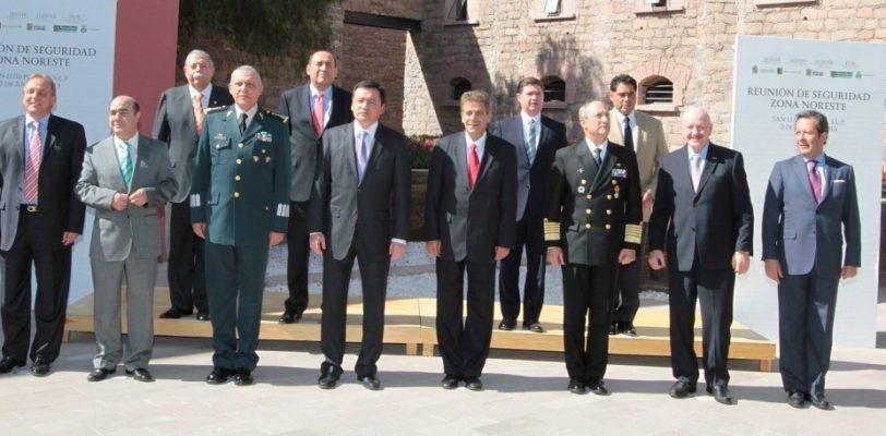 Participa Gobernador en reunión de seguridad Zona Noreste