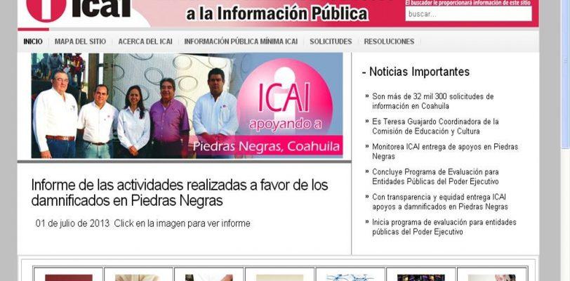 Asegura ICAI apoyos en Piedras Negras se entregaron sin condicionamiento