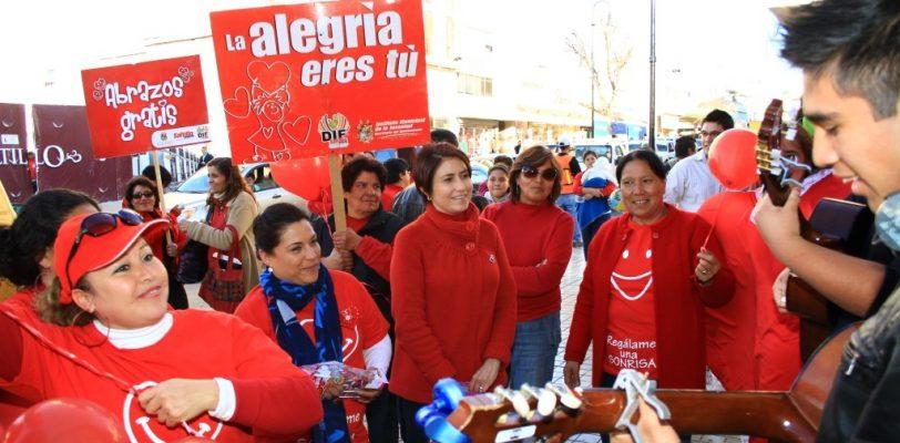 Convoca DIF Saltillo a caminata; iniciará en la Plaza Nueva Tlaxcala