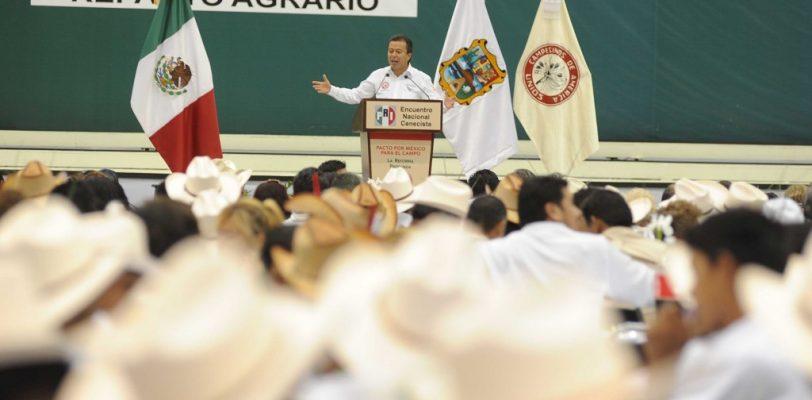 Pide César Camacho apoyar a EPN en todas las reformas audaces