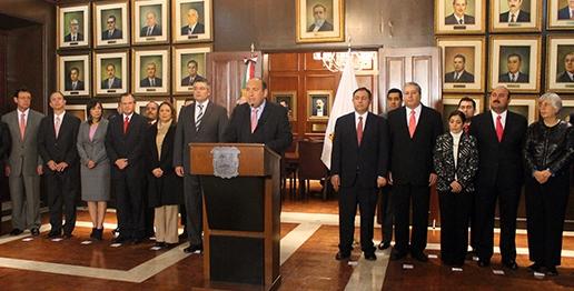 Gobernador RMV emite mensaje en red estatal por 2° Informe