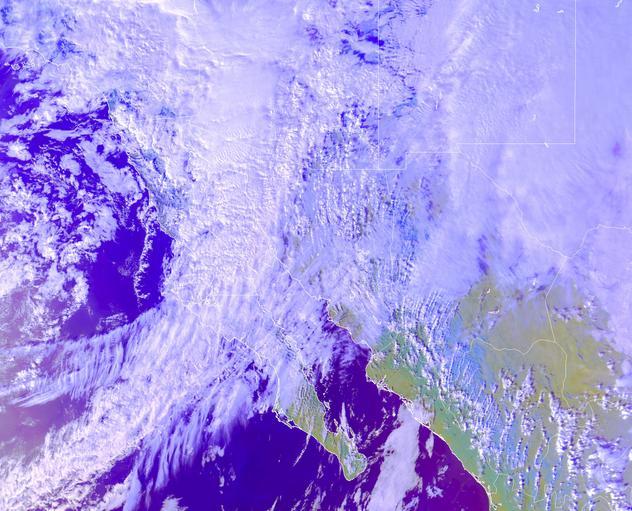 Pronostican nevadas y aguanieve en zonas montañosas