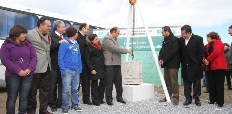 Arranca Gobernador construcción de la primera Universidad Tecnológica de Saltillo