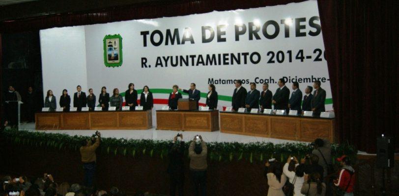 Toma protesta Raúl Onofre como nuevo alcalde de Matamoros
