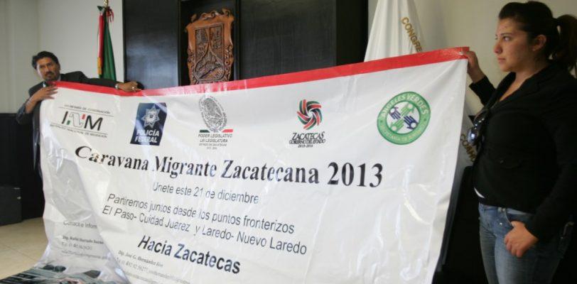 Congresos de Coahuila y Zacatecas acuerdan apoyar a migrantes paisanos