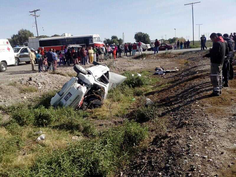 Fatal encontronazo en San Pedro deja cinco muertos