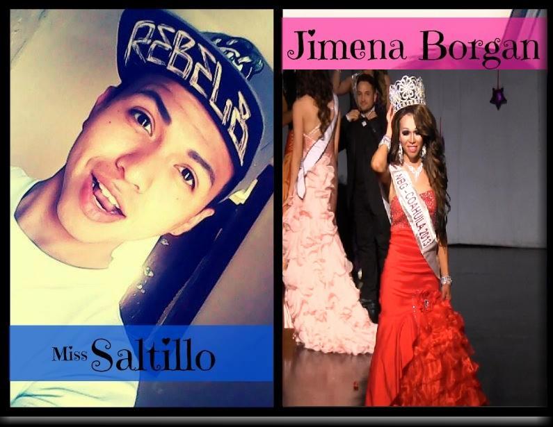 Jimena Borjan es Nuestra Belleza Gay Coahuila 2013