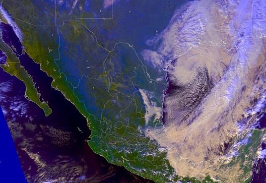 Frente frío provocará lluvias intensas en México
