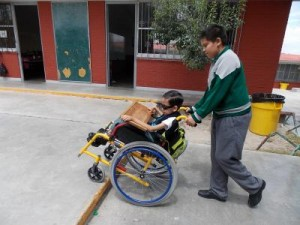 Menor con discapacidad