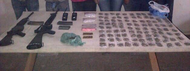 Detiene Policía Estatal Acreditable a narcomenudistas
