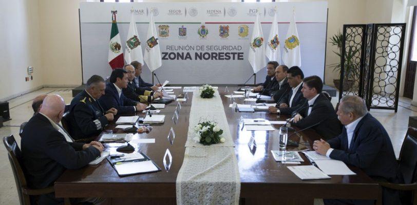Participa Gobernador Rubén Moreira en reunión del gabinete de seguridad nacional
