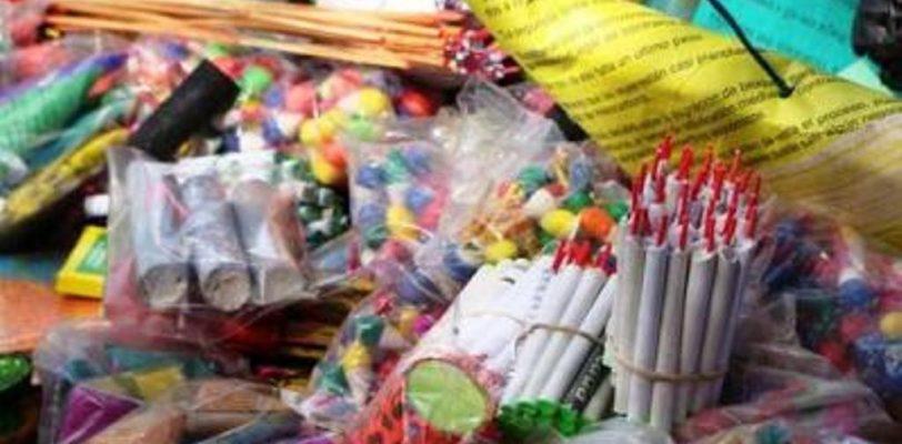 Sin facultades Protección Civil Estatal para sancionar venta de cohetes