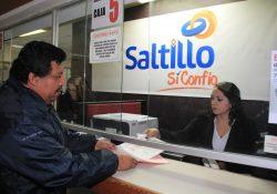 Ingresa Saltillo 23% más del impuesto predial